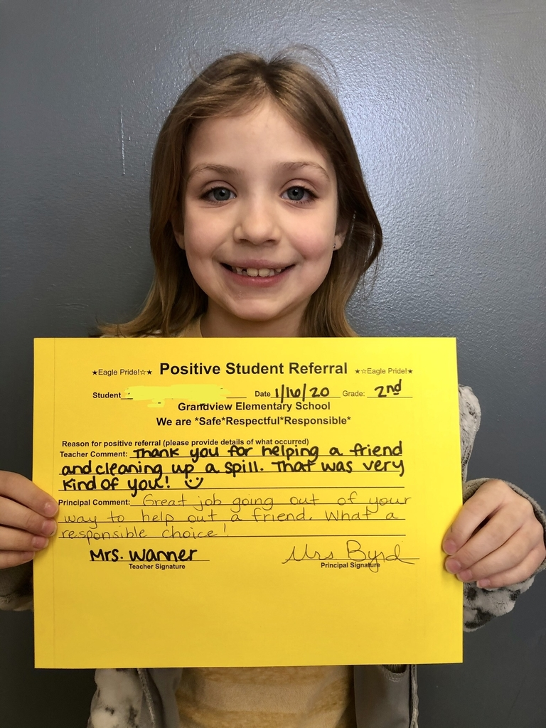 2nd grade positive referral